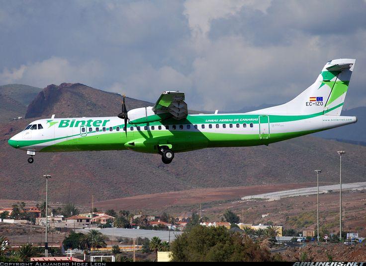 ATR ATR-72-500 (ATR-72-212A) - Binter Canarias   Aviation Photo #1474974   Airliners.net