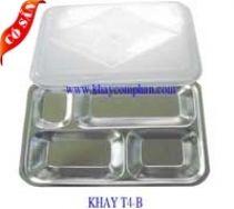 KHAY CƠM INOX 4 NGĂN/ KHAY CƠM PHẦN 4 NGĂN http://bepchuyennghiep.com/khay-com-inox-2-1-790984.html