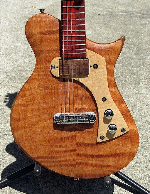 * PETER MALINOSKI ~ Malinoski Guitars ~ I love clean Deco styling like this one! ~ Here is the website > http://www.petermalinoskiart.com/