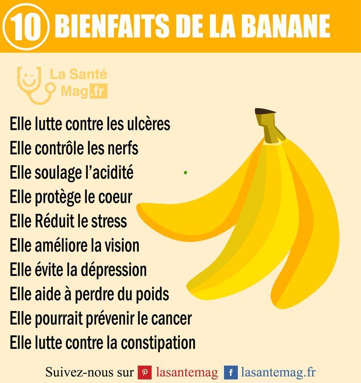 La banane bienfaits
