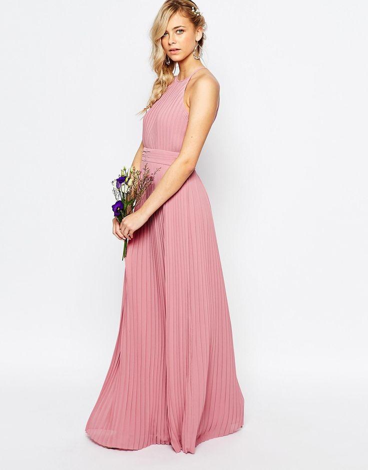 Bridesmaid Dress Option Varying Pink Gray Purple Shades