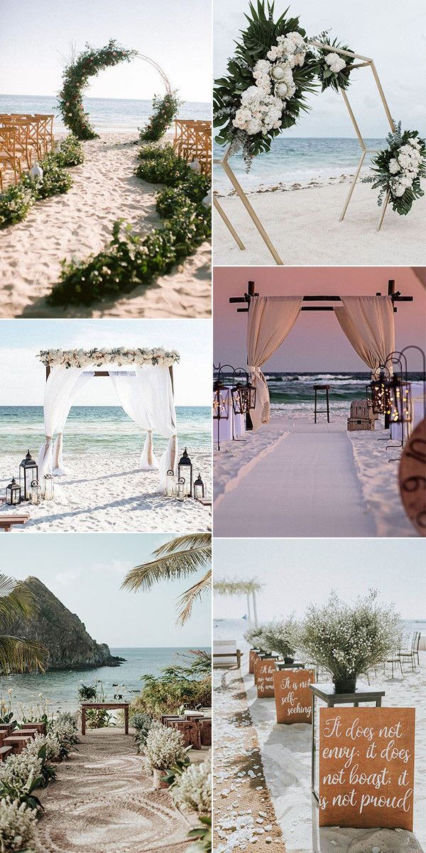 25 Stunning Beach Wedding Ideas You Can T Miss For 2020 Boda En