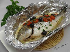 L'orata al cartoccio è un secondo piatto delizioso: il pesce cuoce all'interno del cartoccio conservando tutti i succhi, i profumi e i sapori!