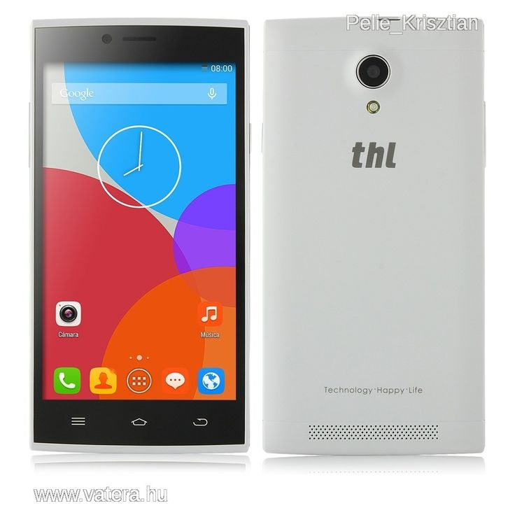 THL T6 PRO OKOSTELEFON FEHÉR - 15000 Ft - Nézd meg Te is Vaterán - Dual SIM (2 kártyás) mobiltelefon - http://www.vatera.hu/item/view/?cod=2485563863
