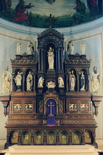 Our beautiful altar, Assumption Parish