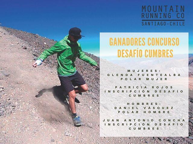 Tenemos ganadores  Felicitaciones y muchas gracias a todos los que participaron en los entrenamientos preparando #desafiocumbres @mountainhardwearchile les llegará pronto un correo con un espectacular descuento para inscribirse en la carrera !!! Se viene lo bueno  a disfrutar de nuestras altas cumbres !! . .  #stgomrco #buff #petzl #cabradelmonte #cervezaquimera #healthbalance #garmin #club #equipo #crew #training #run #runner #mountain #trailrunning #ultratrail #running #outside #experience…