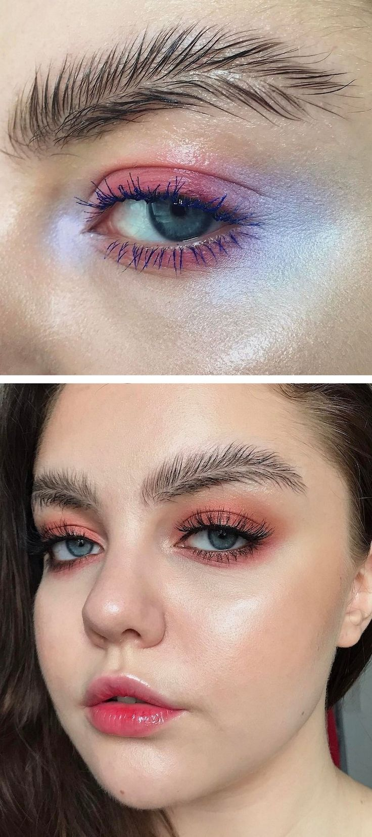 Sparkle shine glitter hair and makeup feathers shimmer - Halloweencrafts Diy Feather Brows For Cosplay Featherbrows What Started Out As A Joke By Finnish Makeup Artist Stella Sironen Has Now Become A Trend On