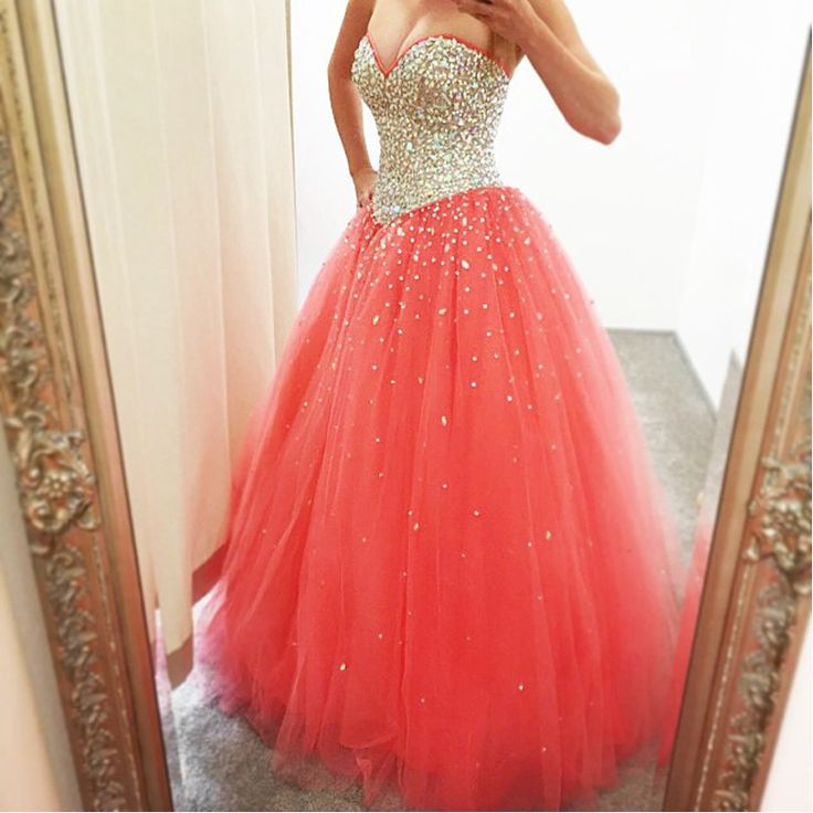 Best 20  Coral Prom Dresses ideas on Pinterest | Pattern ball ...