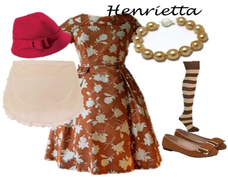 Henrietta's Costume