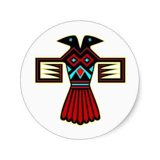 Pájaro indio Thunderbird del nativo americano
