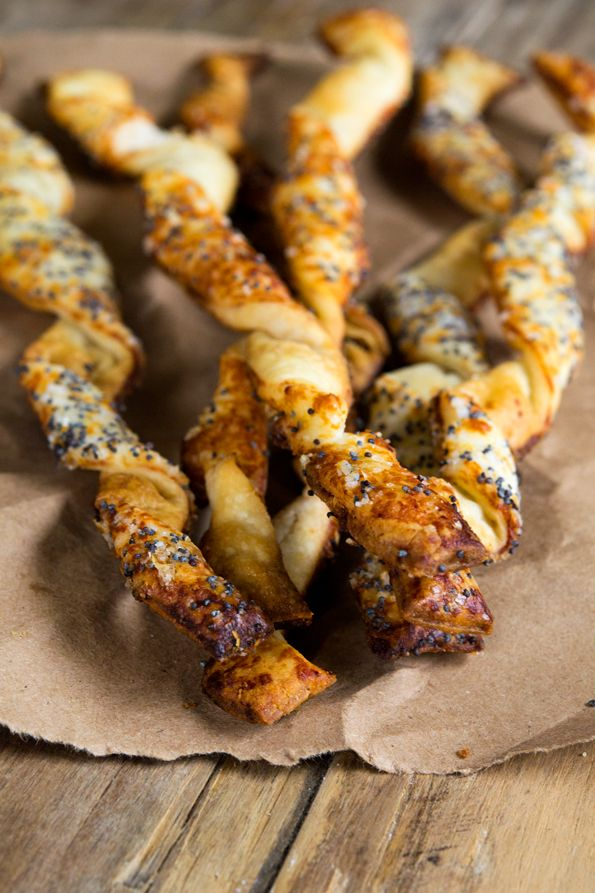 Gluten Free Puff Pastry Cheese Straws | The perfect starter.