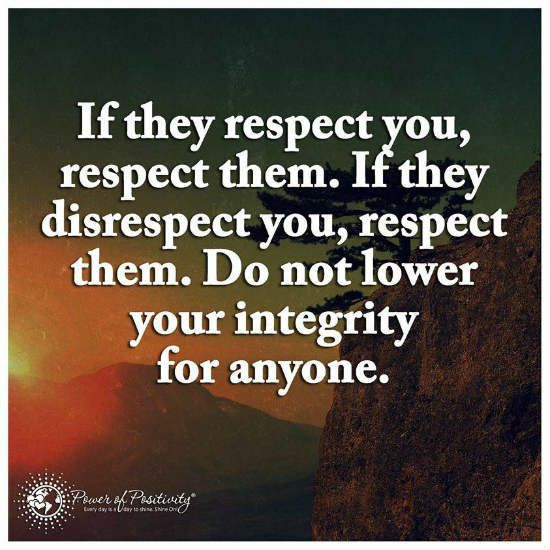 Respecting Life Quotes: 14 Best Respect Quotes Images On Pinterest