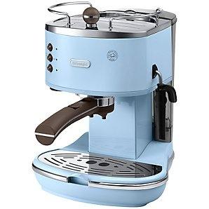 De'Longhi ECOV310.AZ Vintage Icona Espresso Coffee Machine, Azure Blue