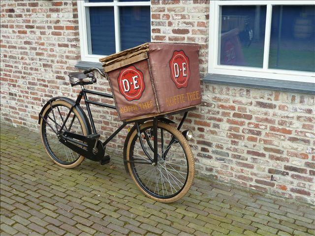 transportfiets voor koffie.