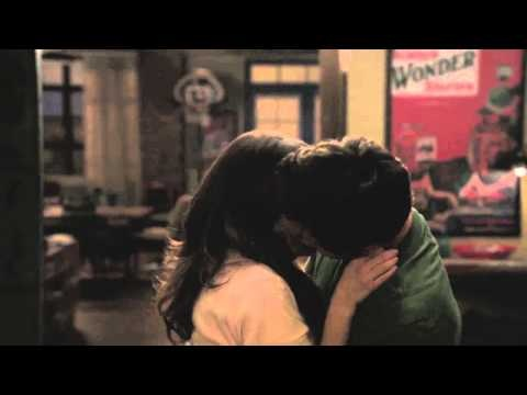 NEW GIRL - The Kiss - This was one of my favourite moments in tv history.  I love the little aftershock kiss at the end the most.  sigh. :-)