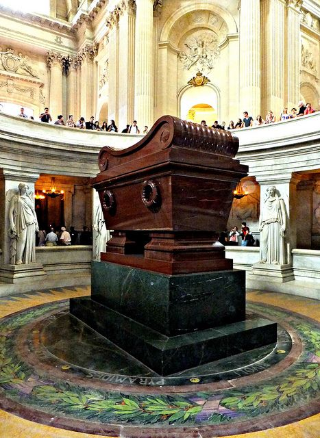 Napoleon's Tomb, Hôtel des Invalides, Paris, France