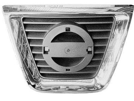 2008-2010 Nissan Rogue Center Grille Chrome