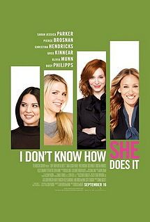 Sarah Jessica Parker talks about I Dont Know How She Does It