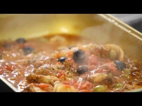Курица по-марокканский и цыплёнок по-средиземноморский с белым вином