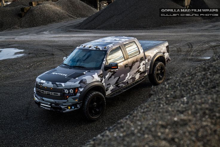 Gorilla Mad Film Wraps Goes Urban Assault on a Ford Raptor