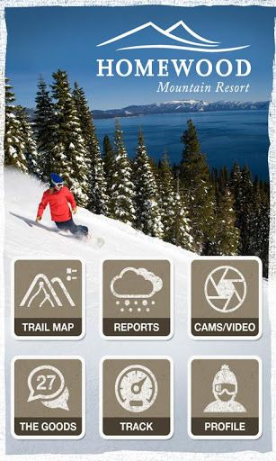 The official Homewood Mountain application to make your next mountain experience the best mountain experience.<p>Features a GPS enabled, highly visual trail map. Find your location and see where your friends are. Check the live weather conditions, daily resort video reports, live webcams, and lift reports. Stay up to date on all the resort conditions. Check in's, live social interaction, and friend finder can keep your snow experience fun and exciting. Easily access all of the mountains…