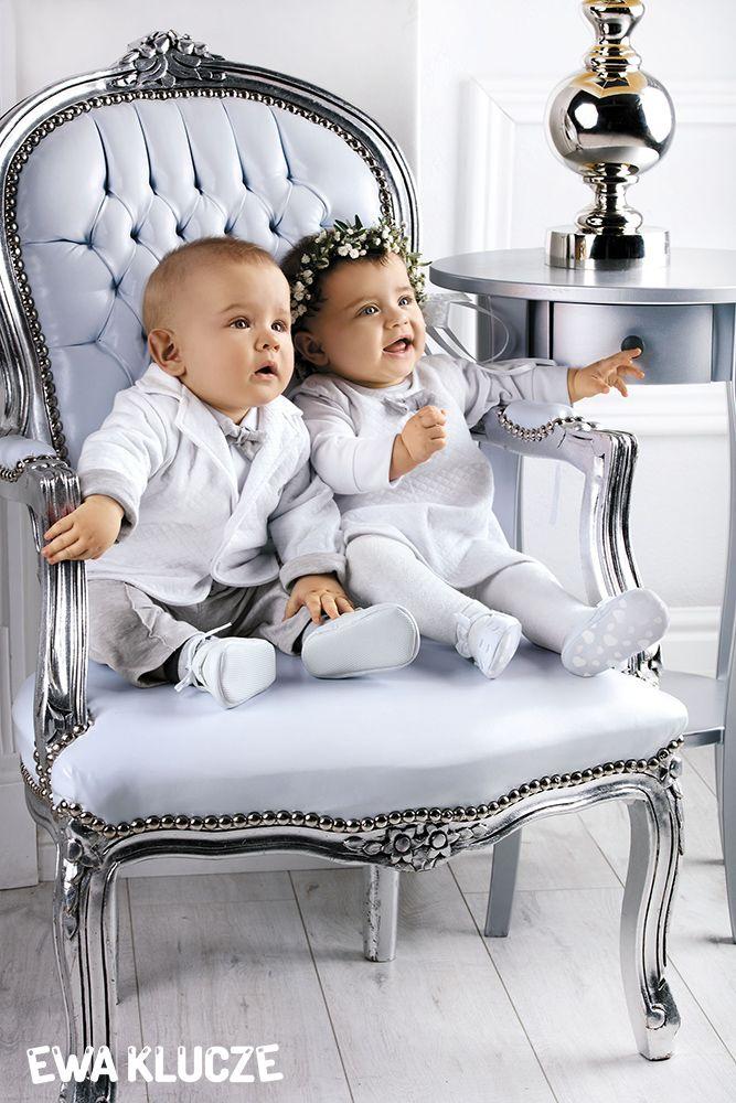 EWA KLUCZE, kolekcja ELEGANT, chrzest, sukienka dla dziewczynki, marynarka i spodnie dla chłopczyka, ubranka dla dzieci, EWA KLUCZE, ELEGANT collection, baby boy trousers, suit, baby girl dress, baby clothes
