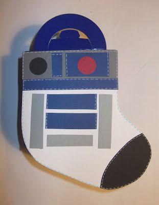 cartoncino mio: Le finte calze di Natale