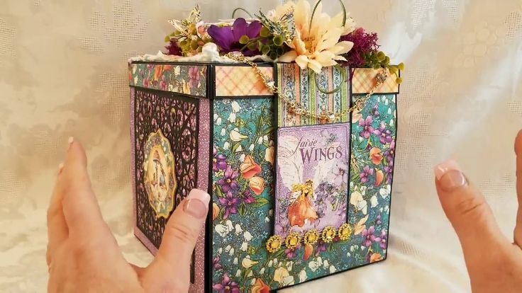 *FOR SALE* Magical G45 Fairy Dust Mini Album Explosion Box for Scrapbooking With ME - YouTube