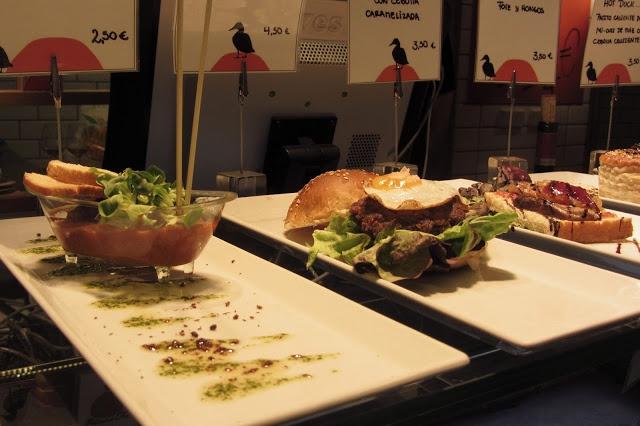 Puturru de foie, Mercado de San Antón. Madrid