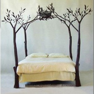 Tree bed: Ideas, Beds, Dream, Trees, Tree Bed, House, Treebed, Bedroom