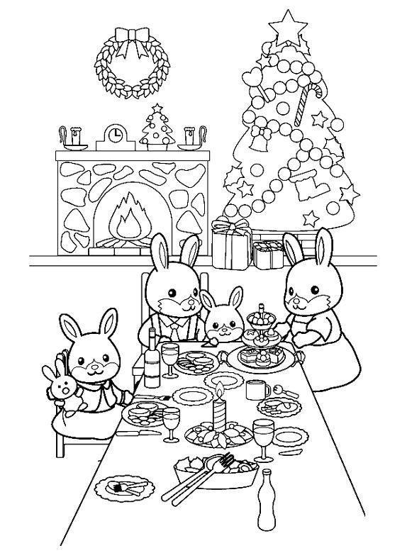 Kerstkleurplaten » Kerstmis Kleurplaten