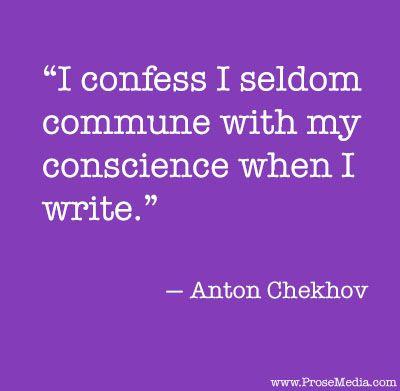 Anton Chekhov's six writing principles