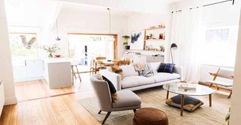 Ayden & Jess vintage contemporary living  Reno rumble