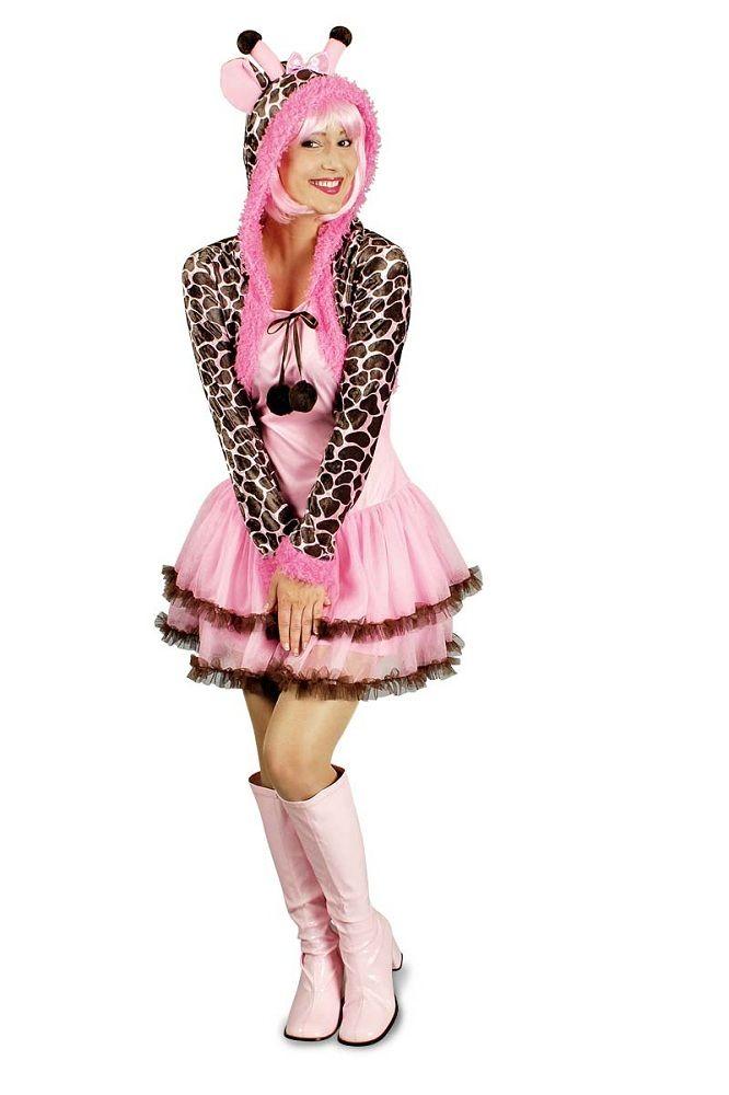 Super süße rosa Giraffe für Damen! Damit werden Sie der Hingucker auf jeder Party!