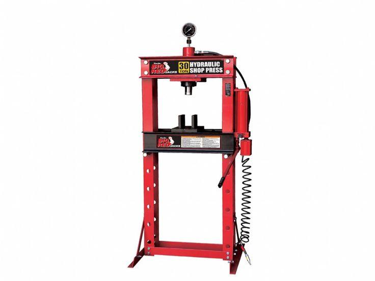 Műhelyprés pneumatikus - hidraulikus 30t, Big Red