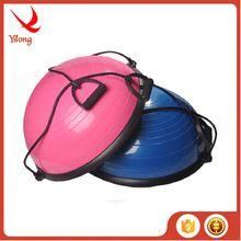 [Body Building] Eco-friendly PVC pilate training bosu ball fitness exercise half balance bosu ball