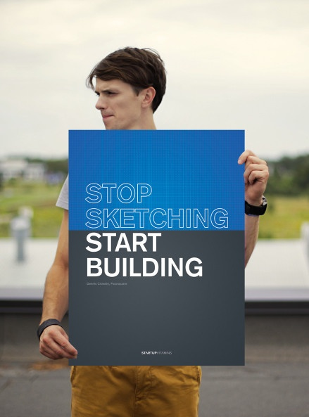 Dennis Crowley: Stop sketching. Start building
