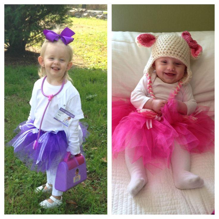 Doc McStuffins & Lambie #halloween #costume #diy #kidshalloweencostume