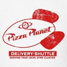 pizza planet logo - Pesquisa Google