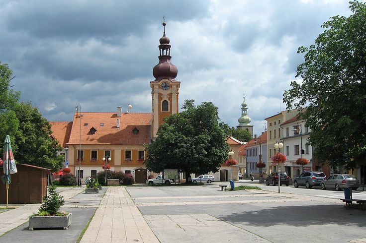 Kaplice - radnice, Kaplitz - rathaus