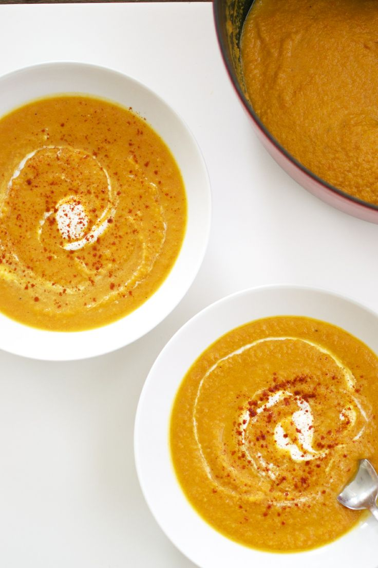 Roasted Squash And Raw Carrot Soup Recipes — Dishmaps