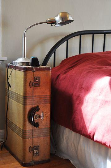 Best 25  Vintage suitcase table ideas on Pinterest | Suitcase ...