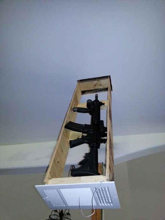 As Gun Sales Rise, Gun-Concealing Furniture Designs Proliferate - Core77