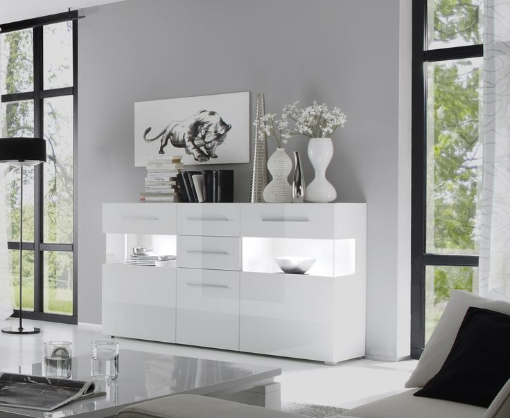 die besten 25 sideboard weiss ideen auf pinterest ikea. Black Bedroom Furniture Sets. Home Design Ideas