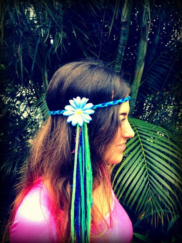 Electric Daisy Headbands. $22.00, via Etsy. @Katie Hrubec Schmeltzer Bachman