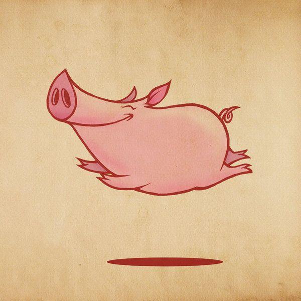flying pig - devi-wee
