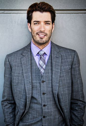 Jonathan Scott of the Property Brothers - this little biscuit can rehab my house any time!