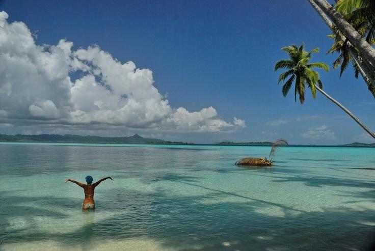 On a deserted island in Pulau Banyak archipelago, Aceh Province, Sumatra.