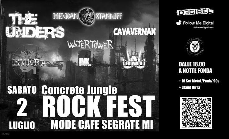 Mexican Standoff @ Concrete Jungle Rock Fest