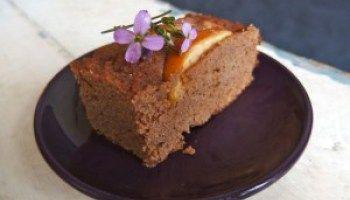 Geurige gembercake met kokosmeel (voor driekoningen!)